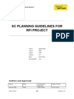 Scrambling Code Guidelines for RFI Project v1