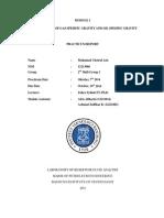 Laporan Praktikum Fluida TM ITB Reservoir Modul 1