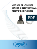 Manual Utilizare Kit Gaz Pni Gz01