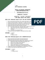 Manual Lab Anatomy Neurobehaviour
