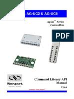 AG-UC2-UC8 - Command Library API Manual
