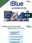 Jet Blue Airways External Enviornment