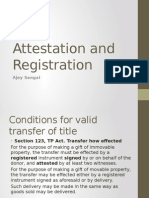 Attestation and Registration