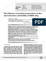Rzychon_Kielbus_The Influence of Pouring Temperature on the Microstructure and Fluidity of AE42 Alloy