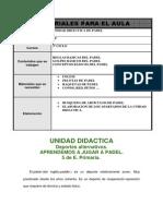 Unidad didáctica Padel
