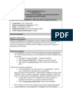 Ficha Jurisprudencial C-1287 de 2001