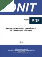 Manual Projetos Geometricos Travessias Urbanas