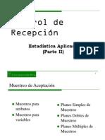 Muestreo de Aceptación II