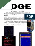 2d platforms & limitations