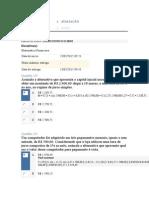 APOL 1 Matemática Financeira