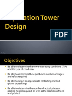Plant Design_Separation_Tower Design
