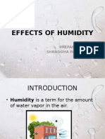 Effects of Humidity