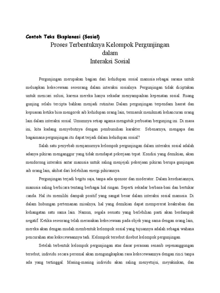 Contoh Announcement Dan Soal Dan Jawaban Contoh Hu