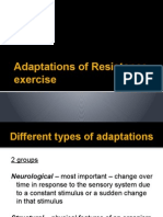 adaptations of resistance exercise 2