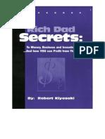 Robert Kiyosaki Rich Dad Secrets