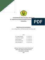 Proposal Kuliah Kerja Bogasari Baru 2015