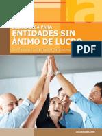ESAL Guia Entidades Sin Animo 2013