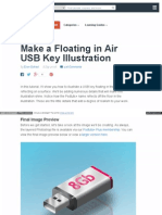 Make a Floating in Air Usb Key