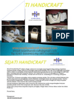 SEJATI HANDICRAFT Power Point Presentasi