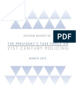 The President's Task Force on 21st Century Policing