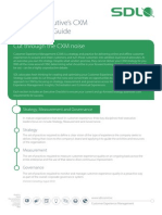 SDL Wp CXM-Strategy-Guide en A4 Tcm73-48501