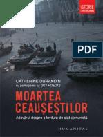 Moartea Ceausestilor Durandin Catherine Color