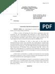 Motion for Postponement