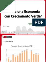 3. Hacia Una Economía Con Crecimiento Verde - Roger Loyola MINAM 19Feb15