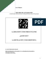 J. F. Selles - Religión Como Pregunta. Quién Soy.