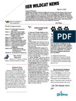 March 2015 Newsletter - Spanish