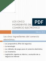 Los Cinco Ingredientes Del Comercio Electrónico