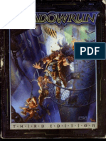 d20 FASA Shadowrun Sourcebook Core Rules