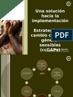 2. Plan de Acción de Género Para El Cambio Climático -CcGAP- Lorena Aguilar IUCN 25feb15