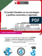 2. Cambio Climático en Estrategias y Políticas Nac y Reg - Claudia Figallo MINAM 26Feb15