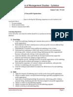 Marketing of Non Profit Organization_sem 4
