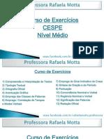 Exercicios Portugues CESPE