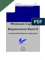 Minimum capital requirement Basel II - credit default model and its application.pdf