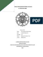 Laporan Praktikum Hukum OHM