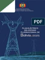 Plan Electrico e.p. de Bolivia -2025 Reducido