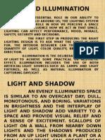 Light and Illumination