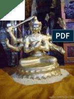 文殊菩薩親造的文殊佛像