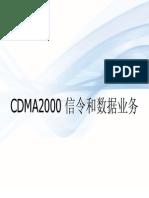 CDMA Signaling and Data Services