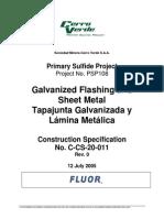 C-CS_20_011_Galvanized Flashing & Sheet Metal Rev_0