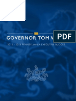 2015 Pa. budget proposal by Tom Wolf