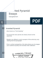 Inverted Pyramid Essays
