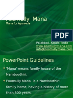 Poomully Mana-Mana for Ayurveda