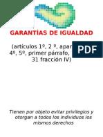 garantías individuales (clasificación)