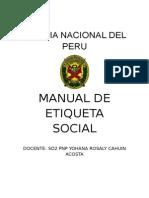 Manual de Etiqueta Social