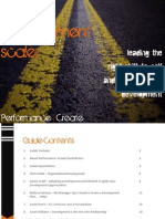 The Development Scale Leading the Right Shift to Self and Organizational Development
