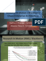 (173 & 186) Chaos Enterprise Architecture